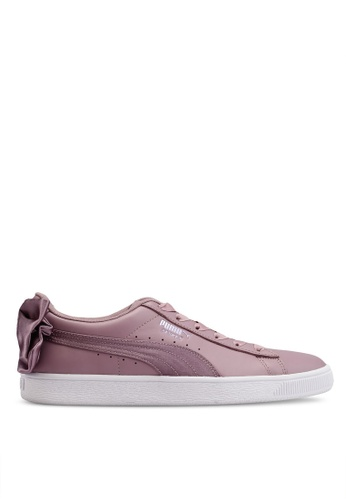 cheap for discount 0a3b1 329db Basket Bow Satin Women's Sneakers