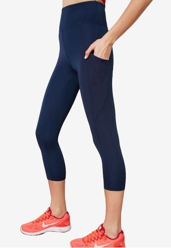 Trendyol navy Side Pocket Sports Leggings D6DECAA3C16A91GS_1