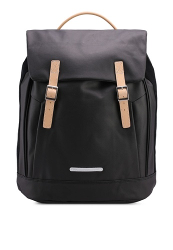 Rawrow black Rugged Canvas R 312 Backpack E1193AC5874846GS_1