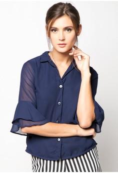 Kaira Flutter Sleeve Top