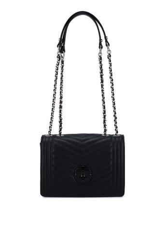 Guess black Lida Convertible Flap Crossbody Bag A234EAC26F05FEGS_1