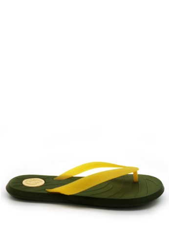 anca green Kornna By Anca Sandal Hugh Lemon Army Green 6252BSH518D8C6GS_1