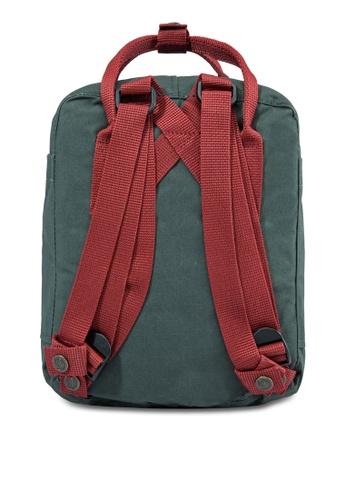61e61ffbc7f Buy Fjallraven Kanken Forest Green-Ox Red Kanken Mini Backpack Online