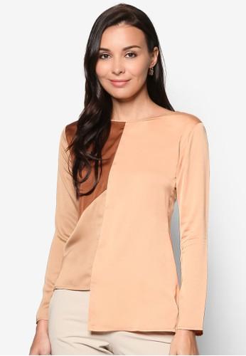 Triangle Blouse, esprit hk store服飾, 女性服飾