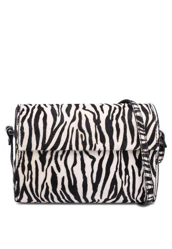 22a0e7599a22 Buy Mango Animal Print Leather Bag Online on ZALORA Singapore