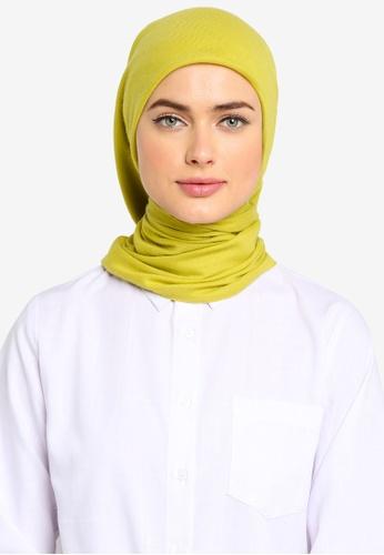 ZALIA BASICS green Leila Square Shawl AA120AA2CFDDA6GS_1