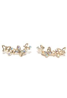 Anne Ear Cuff Style Butterflies 4