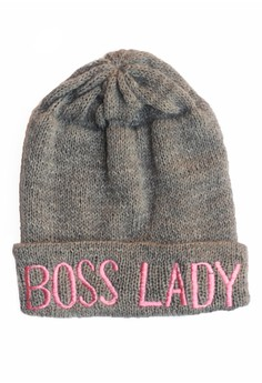 Boss Lady Statement Beanie