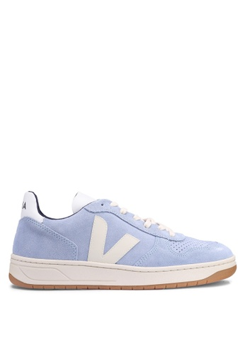 b2f58865adbf2c Shop Veja V-10 Suede Sneakers Online on ZALORA Philippines