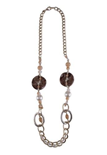 民族風串珠長項鍊, 飾品配件,esprit tw 項鍊