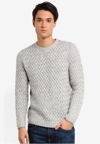 Only & Sons 灰色 針織上衣 D1923AA7190BEAGS_1