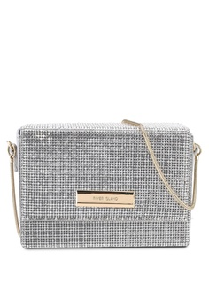 9c8ef01889c6 River Island grey Diamante Chain Mini Crossbody Bag 7A523AC342AA6FGS 1