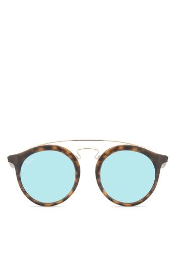 Ray-Ban brown Gatsby I RB4256F Sunglasses RA896GL03CYEMY_1