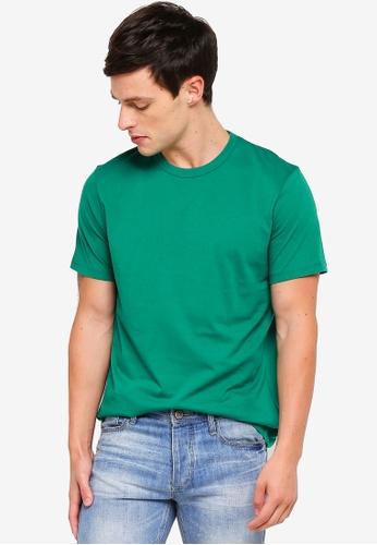 Topman 綠色 短袖經典T恤 68CA2AA5A857ACGS_1