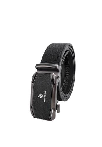 Swiss Polo black 40mm Automatic Belt 1BD51ACEEA0CF2GS_1