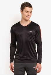 2GO black V-Neck T-Shirt 2G729AA0S60SMY_1
