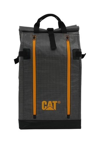 CAT grey CAT Wave Rider Leopard Rolltop Backpack C4116ACC11DBDBGS_1