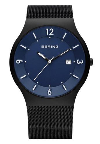 Bering black Classic 14440-227 Blue 40 mm Men's Watch 4F762ACACC016DGS_1