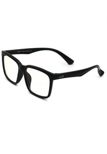 jojo black Wayfarer Blue Light Filtered Glasses 3D8EDKC9D08A94GS_1