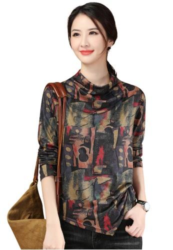 A-IN GIRLS multi Fashion Retro Print T-Shirt 60575AA3B5E9CDGS_1