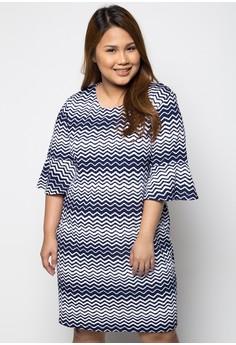 Wave Plus Size Dress