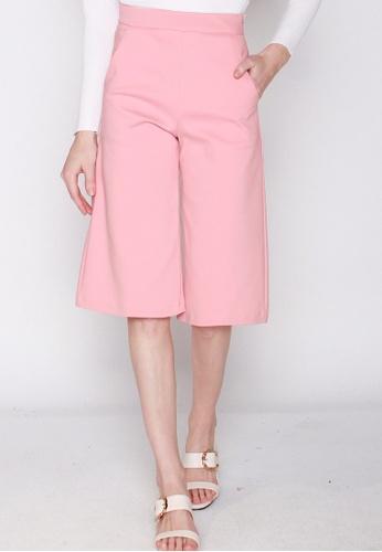 JOVET pink Classic Culottes 1459CAAECAA42EGS_1