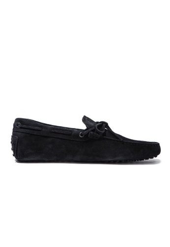 TOD'S blue TOD'S LACCETTO LOAFERS 03EC4SH1D7B740GS_1