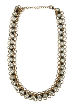 Chunky Diamante Statement Necklace