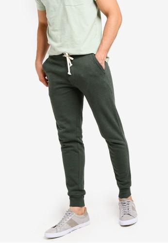J.Crew green Slim Cotton Poly Sweatpant 735CEAAED61856GS_1