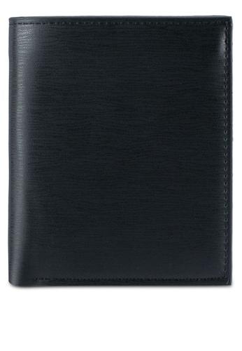 ZALORA black Smooth Biflold Wallet CE60AZZ620FD4DGS_1