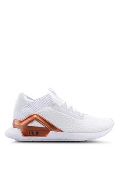 60ee19c03db PUMA white Run Train Rogue Metallic Women s Shoes 81929SH587DB8AGS 1