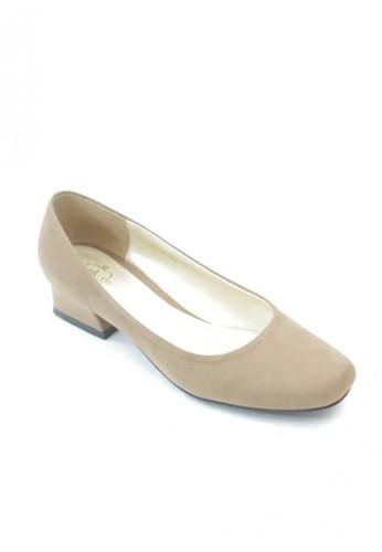 MIKA beige Joy Cream Heel Pumps MI737SH56WLRID_1