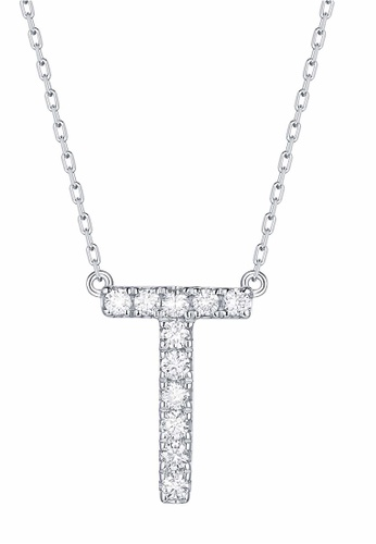 Smiling Rocks white 10K White Gold 0.16ct Lab Grown Diamond Mytype Necklace 2ED62AC3D00A9FGS_1