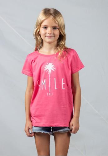 Bali Tees pink Smile Kids Tee 5F80DKA4DD8F9BGS_1