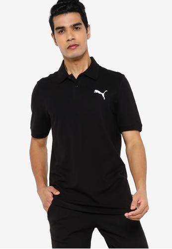 PUMA black Essentials Pique Men's Polo Shirt DC8B0AAEE90F88GS_1
