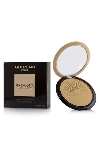Guerlain GUERLAIN - Terracotta Summer Glow Face Highlighter Powder - # Golden Glow 10g/0.3oz 2DA11BED2604F3GS_1