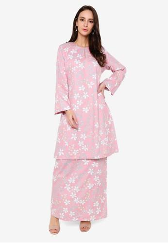 Butik Sireh Pinang pink Baju Kurung Pahang Hayati 50548AA96FF0CDGS_1