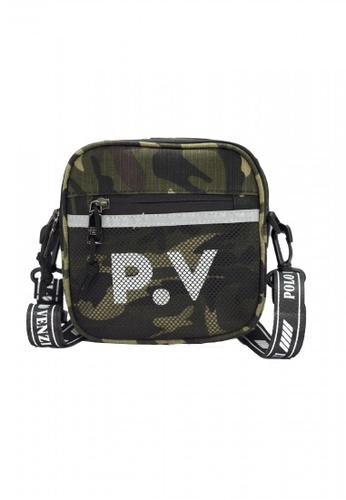 POLOVENZI green POLOVENZI MEN SLING BAG / CROSSBODY BAG / BELT BAG 9F011ACBA85E25GS_1