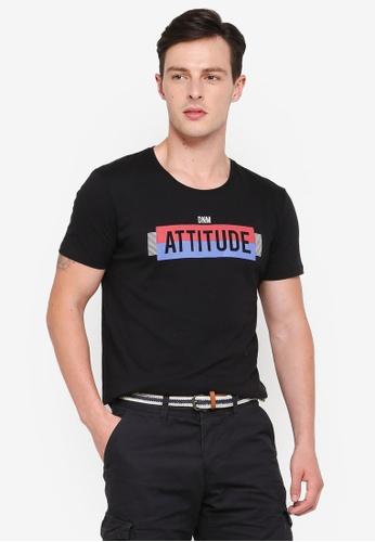 ESPRIT black Short Sleeve T-Shirt 95E13AA5F510A7GS_1