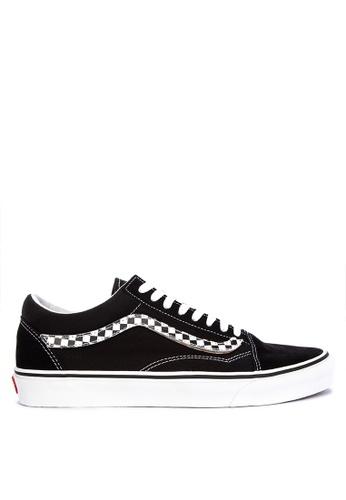 VANS grey Sidestripe V Old Skool Sneakers 5E85DSH4842532GS_1