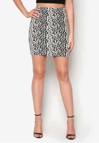 動物印花esprit retail短裙, 服飾, 裙子