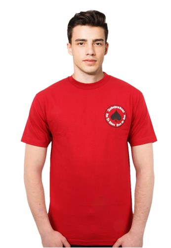 ddaa59f8f82e Thrasher red Thrasher x Independent Oath T- Shirt Red CCA53AAE070E94GS 1