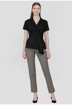 5a0a9f5cd6d7e8 Cloth Inc Overlap Drapery Top in Black Rp 289.000. Ukuran XS S M · Cloth  Inc white Sabina One Shoulder ...