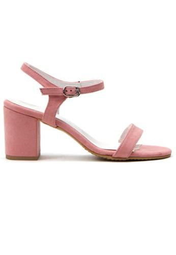 Crystal Korea Fashion purple Korean Fashion Summer Candy Color Thick Sandals D6D10SH046A6B8GS_1