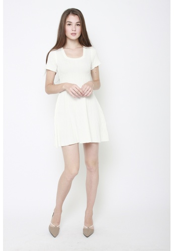 Sophialuv white Knitting You Dress in White 5A2DCAAB2F0298GS_1