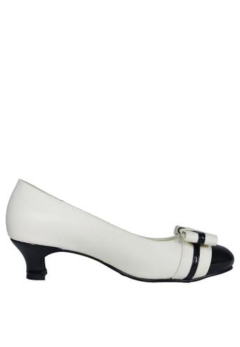 Jacque white Atheia White Heels JA262SH23OZSMY_1