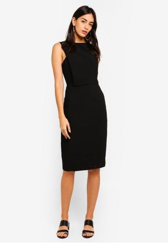 Mango black Zipped Dress 5CA95AA9CDF1A5GS_1