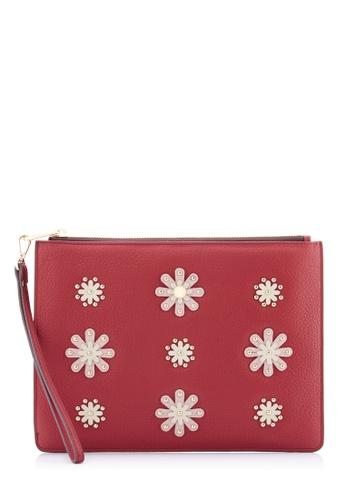 BONIA Red Daisy iPad Pouch 31C88ACC92684FGS_1