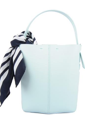 RO Bags green RO Terranova Felucca Mini Top Handle Bucket Bag in Mint Green/Spring Green 1C5FDACBAC50F2GS_1