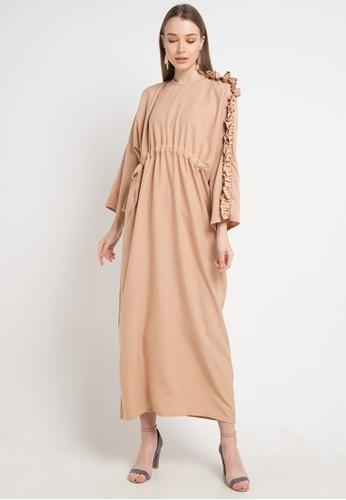 Covering Story brown Vianze Dress-B A6129AA1504C7BGS_1
